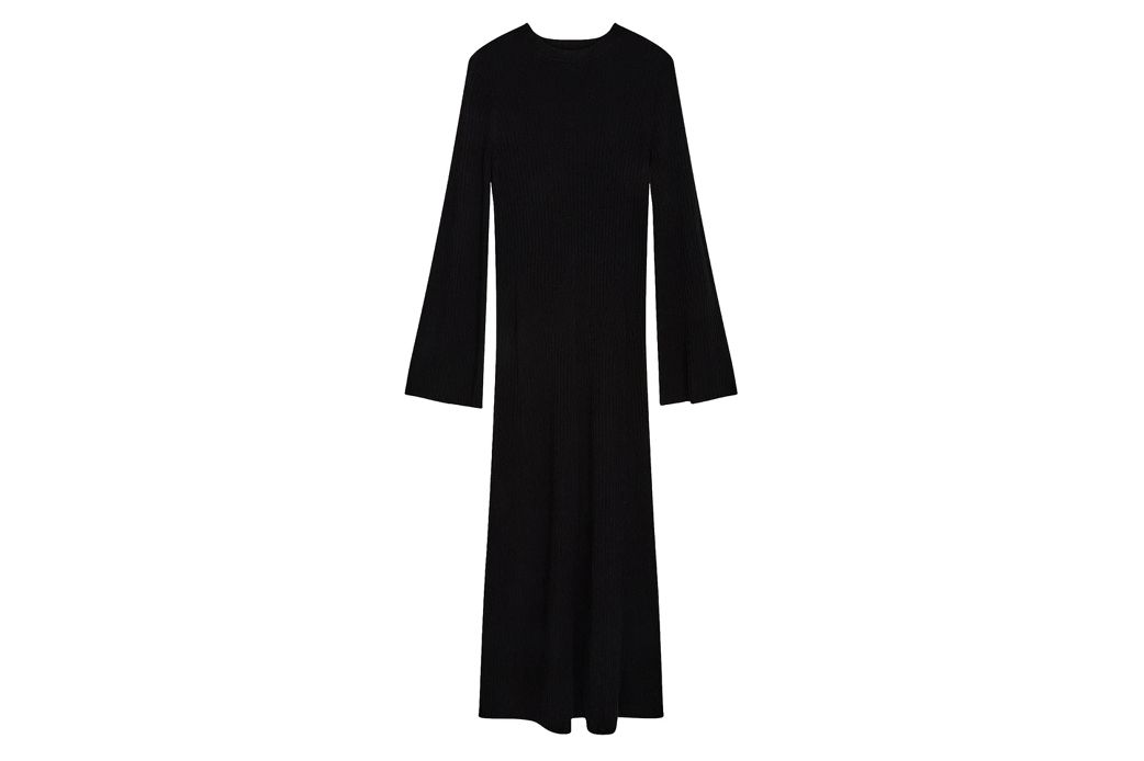Loulou Studio Larga rib dress