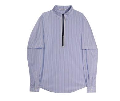 Wynn Hamlyn L/S Double Zipper Shirt