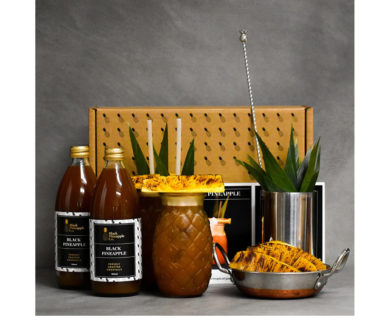 Black Pineapple Bangers Box