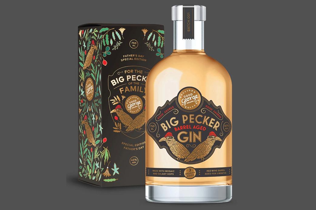 Big Pecker Barrel Aged Gin