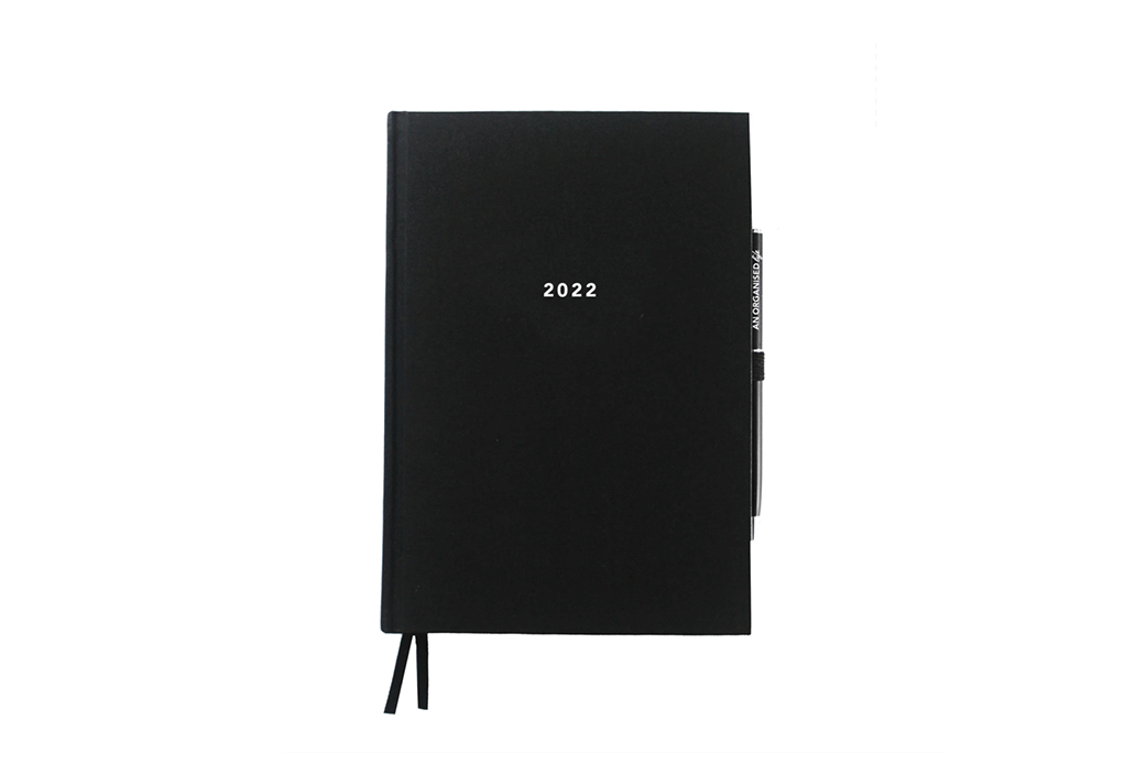 2022 Signature Diary with White Foil