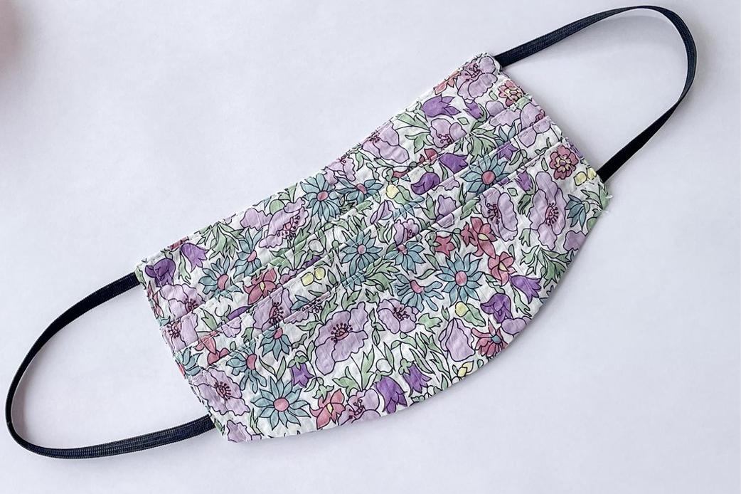 Lilac Lake Lilly Mask