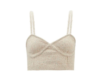 JoosTricot Knitted Bralette