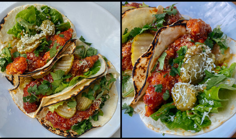 Try this buffalo chicken taco recipe for a tasty weekend 'fakeaway' fix