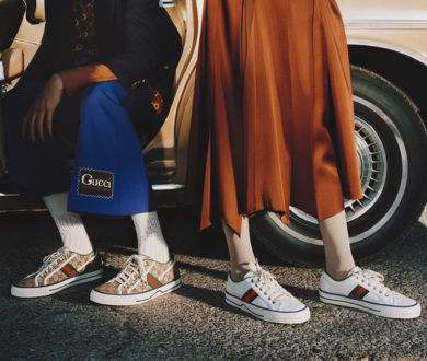 Step out in bold style with the coolest logo-loving luxury sneakers to buy now