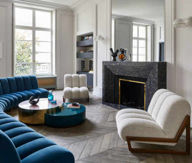This charming home delivers a masterclass in mixing classic details with novel ideas