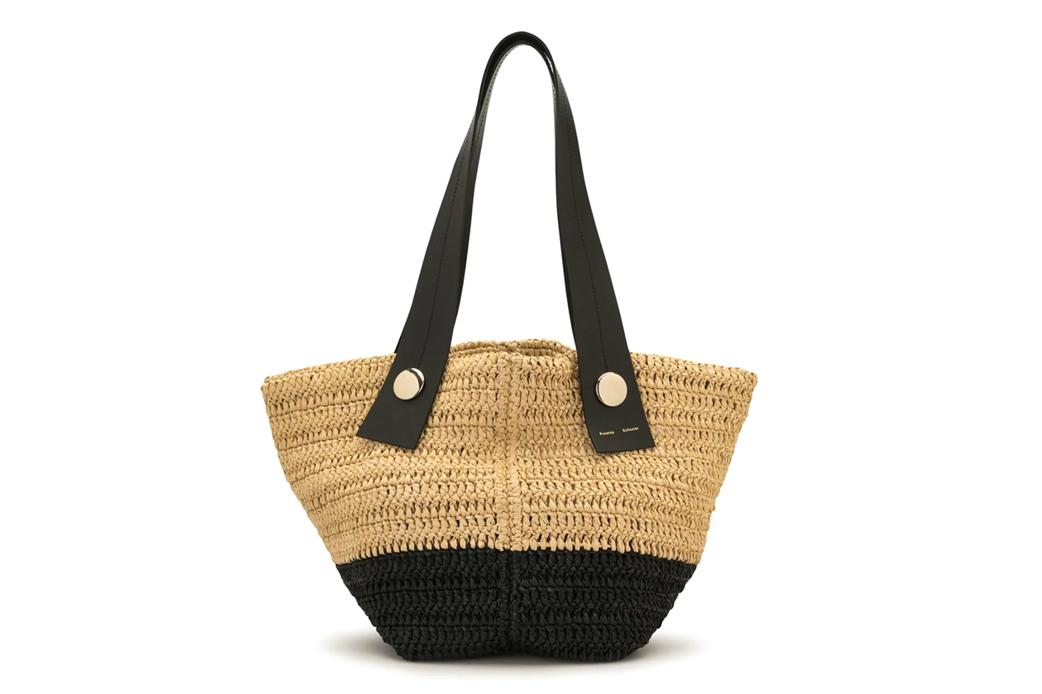 Proenza Schouler Raffia Tote Bag