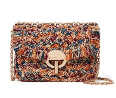 Vanessa Bruno Crochet Raffia Bag