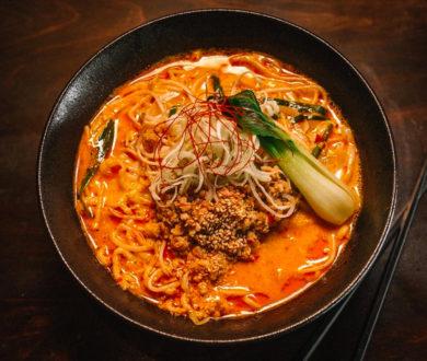 Get your comfort food fix with this recipe for Ramen Takara's famous Tan Tan ramen