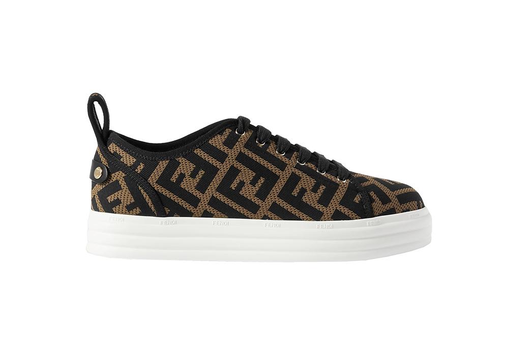Fendi Flatform Sneakers