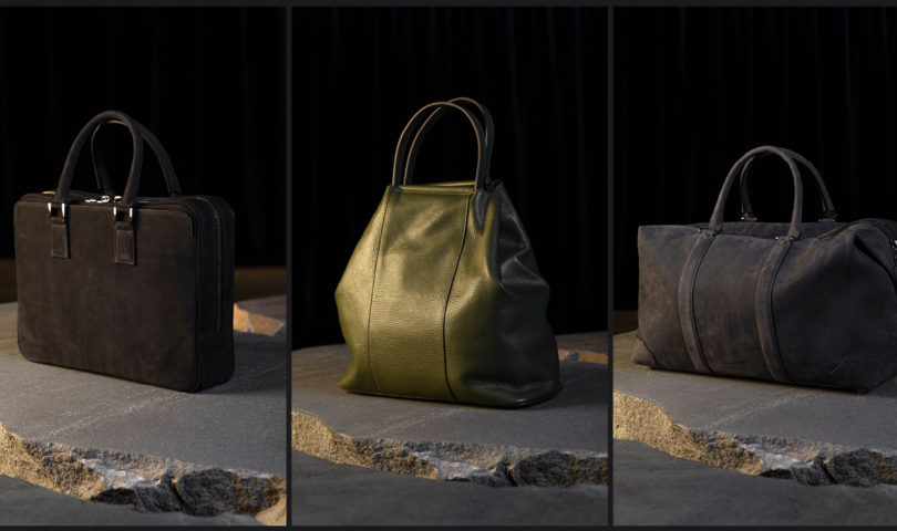 Be best dressed wherever life takes you with Dadelszen's capsule leather goods collection