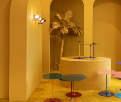Fata lamp and Thierry table