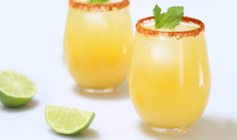 This healthy(ish) kombucha margarita recipe delivers the kind of self-care we're seeking right now