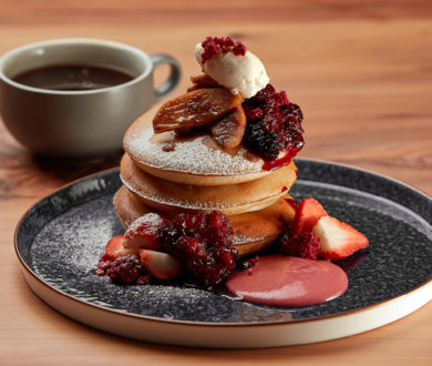 Start your day the delicious way with Park Hyatt Auckland's impressive pancake recipe