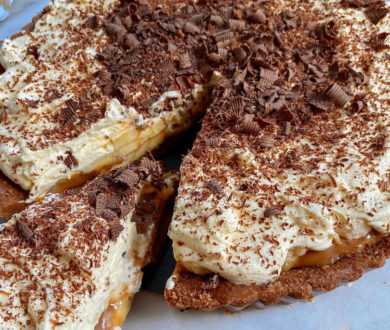 Offering maximum reward for minimum effort, this banoffee pie recipe is not to be missed