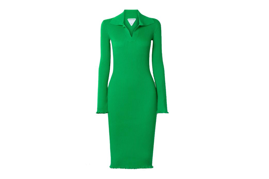 Bottega Veneta Ribbed Dress