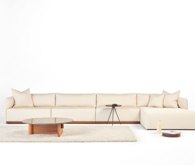 Timeless and impeccably designed, Tim Webber's new sofa is a minimalist's ultimate statement piece