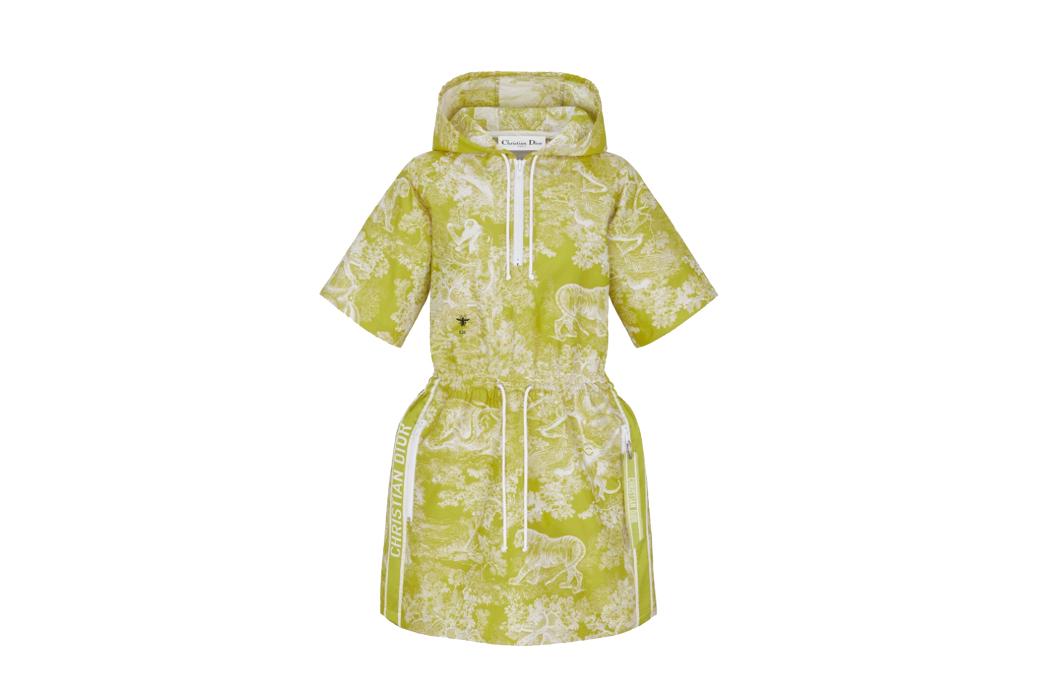 Dior Hooded Dress