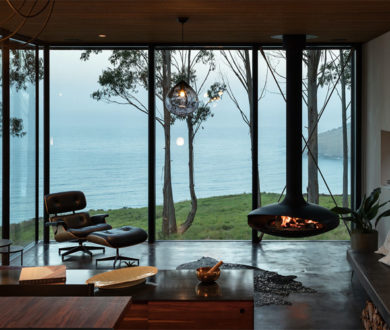 The elemental beauty of this clifftop home is a masterclass in unassuming forms and breathtaking vistas