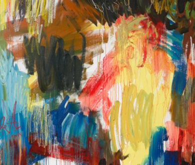 The beautiful order and chaos of Zara Dolan's new exhibition at Sanderson Contemporary