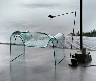 This transparent furniture trend is a stylish exercise in creative contradiction