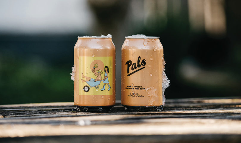 Celebrate the delicious new flavour from Pals with your double bubble and transport your tastebuds to the tropics