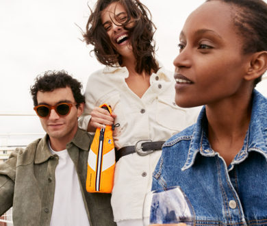 The sporting new Veuve Clicquot x K-WAY Ice Jacket is an exercise in boundless creativity